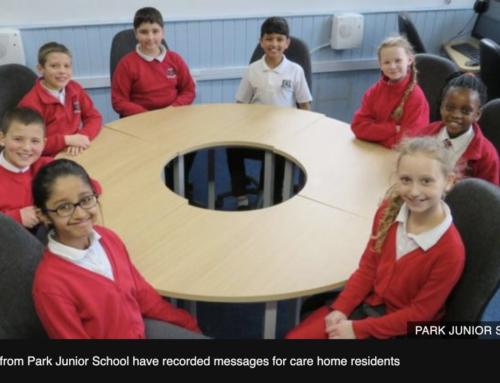 Coronavirus: Children send care home residents uplifting messages